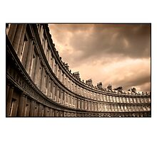 The Royal Crescent Bath Somerset Photographic Print