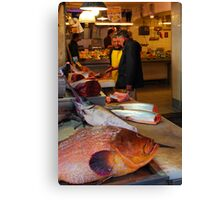 The Fish Shop Canvas Print
