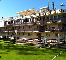 'Murray Princess!' Iconic Paddle Steamer. Mannum. Sth. Aust. by Rita Blom