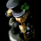 Flowers in the Window - Chimney Sweep Figurine I by Roy Salter
