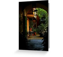 French Quarter ~ Part Three Greeting Card