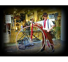 Steampunk Man Photographic Print