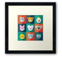 Pet Parade Framed Print