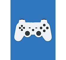 DualShock 3 Controller White Photographic Print