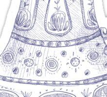 Tea Pot Doodle Sticker