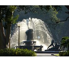 Archibald Fountain Photographic Print