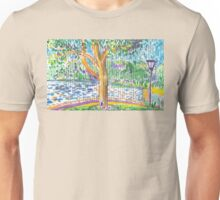 Rushcutters Bay on a Sunday in Winter Unisex T-Shirt