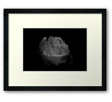 Dark with Beauty Framed Print