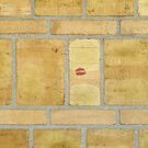 Someone else loves brick walls, too by Marjolein Katsma