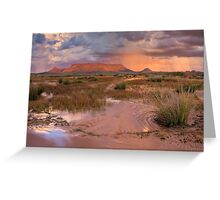 Tafelkop Storm Greeting Card