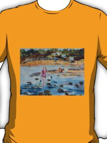 Mornington Beach (Watercolour) Victoria Australia T-Shirt