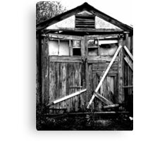 Shed Canvas Print