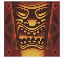 Atomic Tiki Logo T-shirt by Mike Cressy