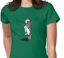 Mr Watering Can Head Womens Fitted T-Shirt