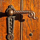 Door handle by Aleksandra Misic