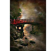 Bridge in Japan Photographic Print