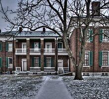 Plantation House - back by Eric Scott Birdwhistell