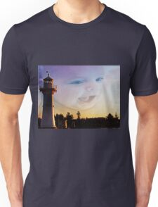 Happy Afternoon At The Lighthouse Unisex T-Shirt