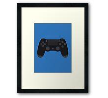 DualShock 4 Controller Black Framed Print