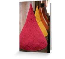 Spice Souq Greeting Card