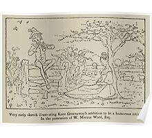 Kate Greenaway Collection 1905 0557 Humorous Artist Hopes Poster