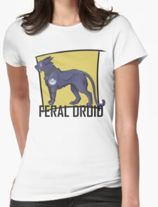 Feral Druid - Alliance Womens Fitted T-Shirt