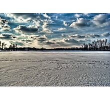 Across The Winter Photographic Print