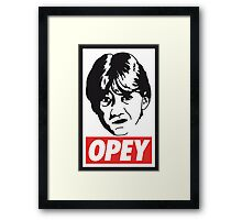 OPEY Framed Print