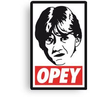 OPEY Canvas Print