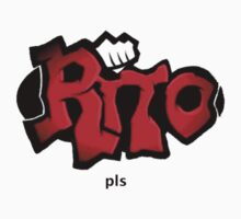 """RITO pls"" by limitedskins.com T-Shirt"
