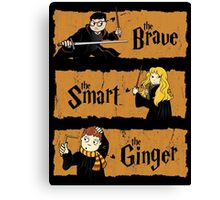 The Brave, the Smart, the Ginger Canvas Print