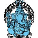 Lord Ganesha Hindu Elephant headed God by scott allison