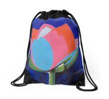Flashy Flower Drawstring Bag