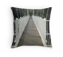 The Footbridge Throw Pillow