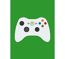 Xbox 360 Controller White Photographic Print