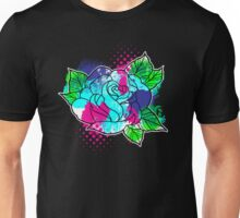 Water Color Splash Rose Unisex T-Shirt