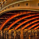 Night Under Princes Bridge by Jason Green