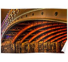 Night Under Princes Bridge Poster