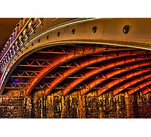 Night Under Princes Bridge Photographic Print