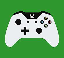 Xbox One Controller White by Fardan Munshi