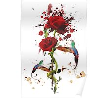 Lovely - Splatter Poster
