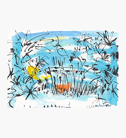 The Little Pond in the Park Photographic Print