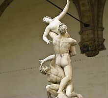 Rape of the Sabine Women  by Peg Robb