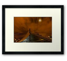 Sidney Myer Music Bowl at Night #1 Framed Print