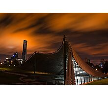 Sidney Myer Music Bowl at Night #2 Photographic Print