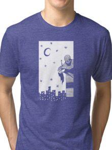 Robot Attack! Tri-blend T-Shirt