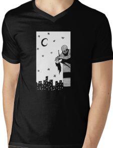 Robot Attack! Mens V-Neck T-Shirt