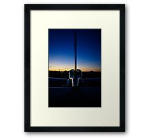 Days end. . . . Framed Print