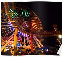 Speeding Roller Coaster ( #1 ) Poster