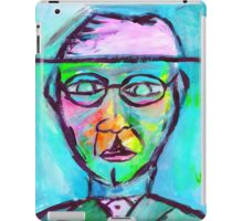 Colorful man iPad Case/Skin